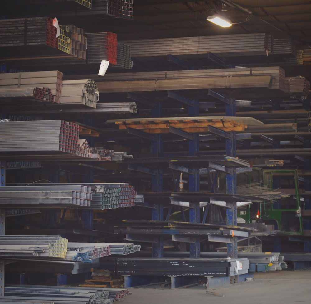 metal services warehousing