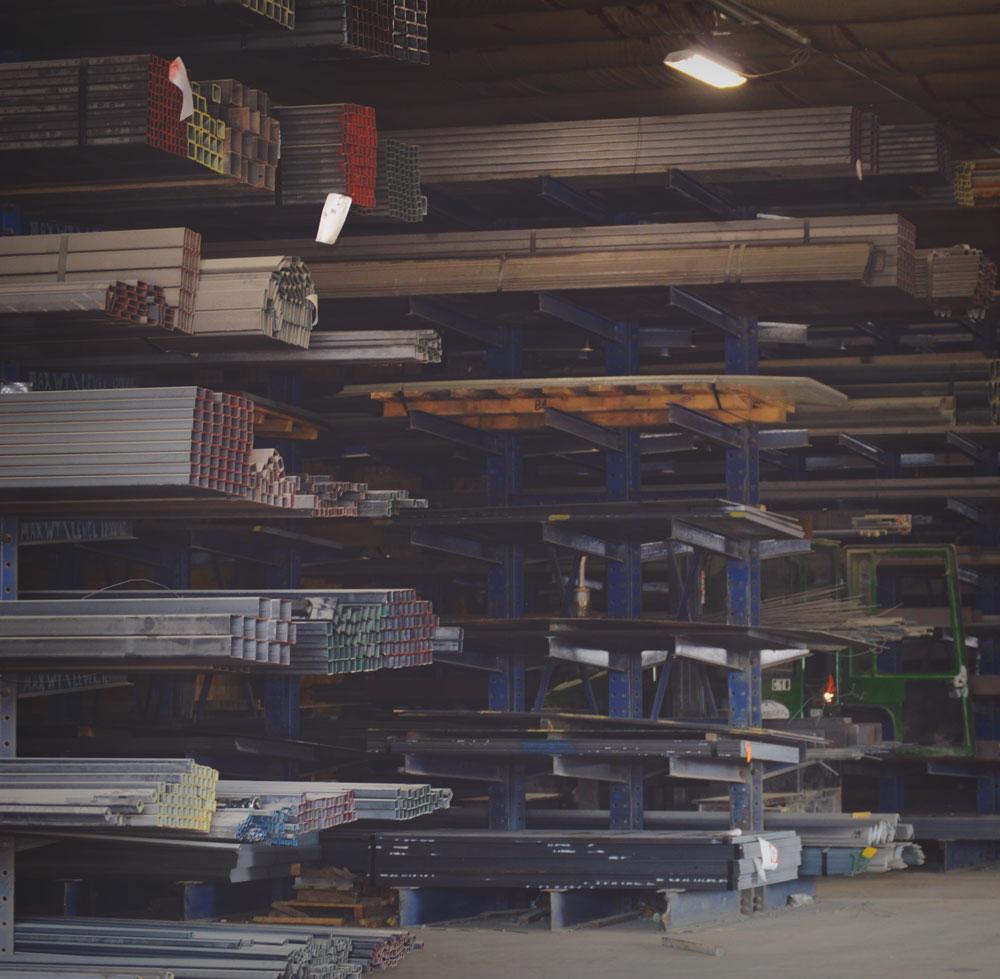 metal services warehousing