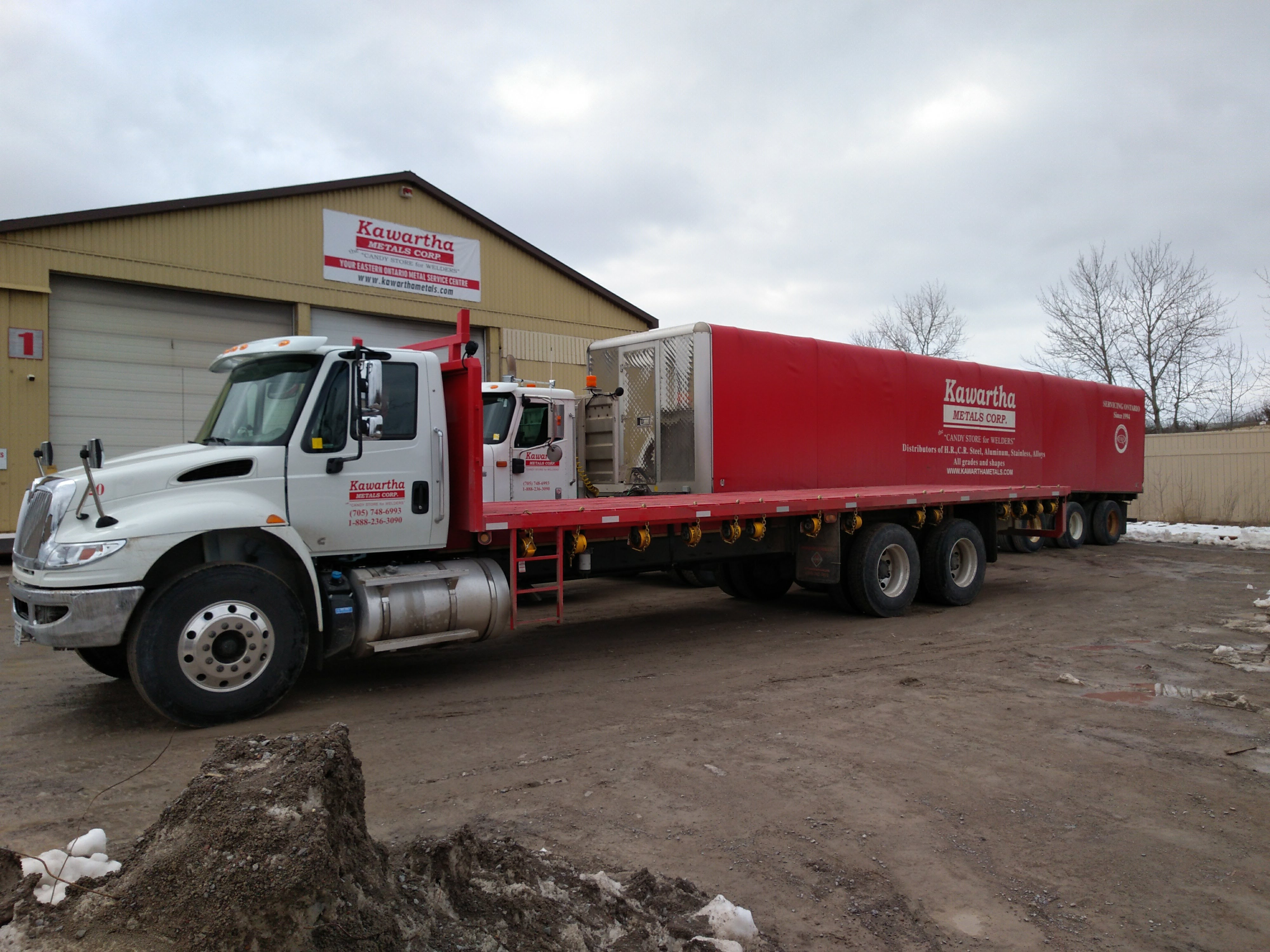 Kawartha Metals Corp. Locations - we deliver on time
